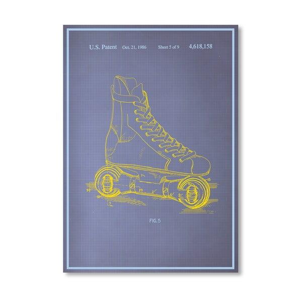 Plakát Rollerskates, 30x42 cm
