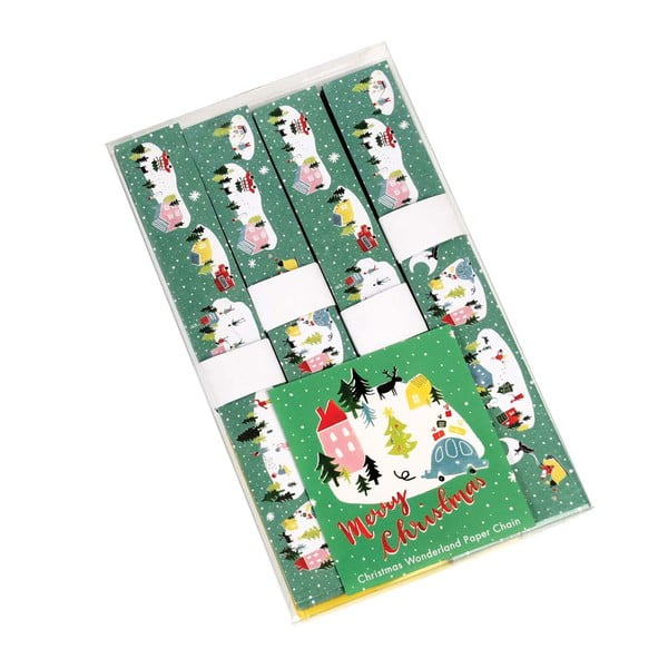 Sada na výrobu papírového řetězu Rex London Christmas Wonderland