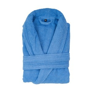 Modrý bavlněný župan Casa di Bassi, velikost XL/XXL