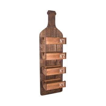 Raft din lemn pentru perete Antic Line Bottle imagine