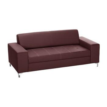 Canapea cu 3 locuri Florenzzi Fioravanti, maro