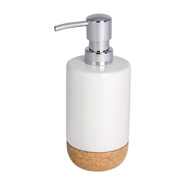 Bílý dávkovač mýdla Wenko Corc