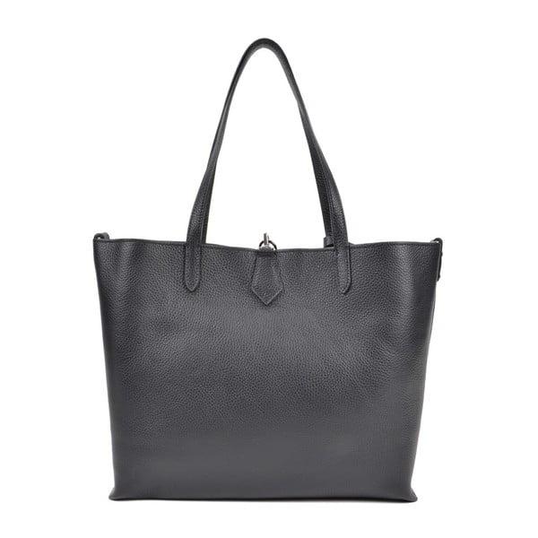 Černá kožená kabelka Roberta M Masna