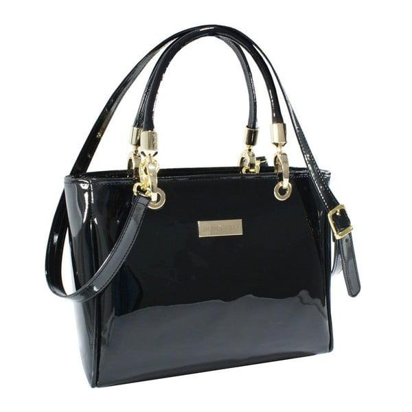Kožená kabelka Boscollo Black 3012