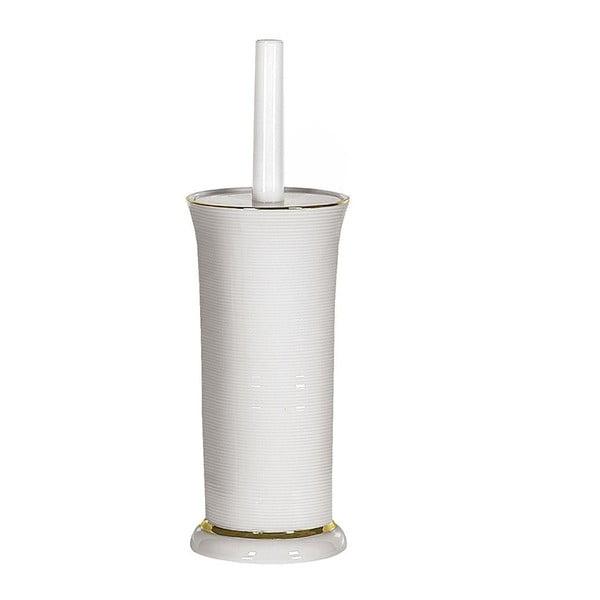 Toaletní kartáč Ascot White/Gold