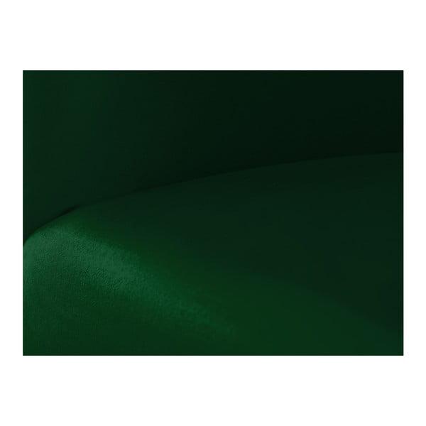 Zelená modulová čtyřmístná pohovka s lenoškou Norrsken Ebbe