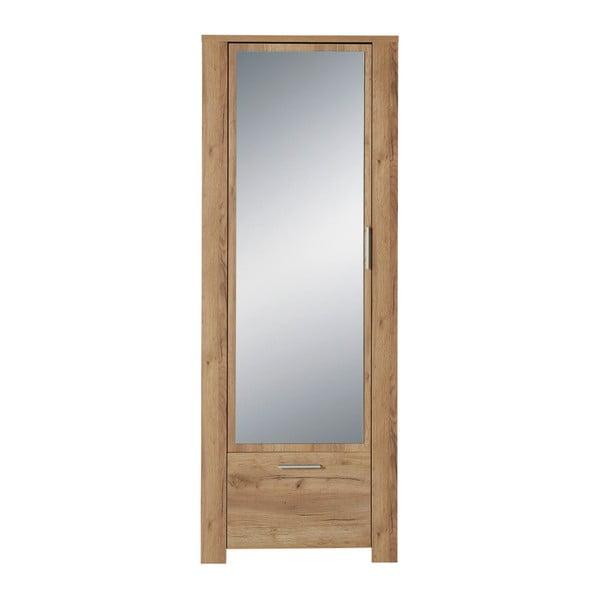 Dulap cu oglindă, decor lemn de stejar Germania Castera