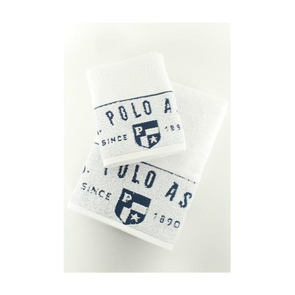 Sada 2 osušek U.S. Polo Assn. Royal, 50x90 a 70x140 cm