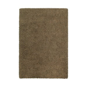 Koberec Shaggy 140x200 cm s 3 cm dlouhým vlasem, hnědý