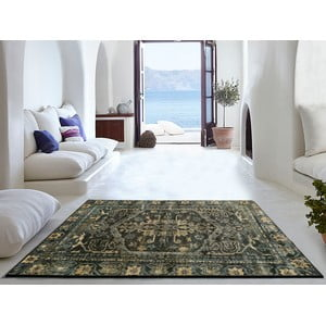Černý koberec Universal Lara, 160 x 230 cm
