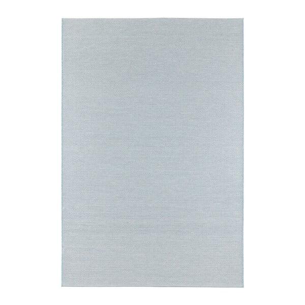 Světle modrý koberec vhodný i na ven Elle Decor Secret Millau, 140 x 200 cm