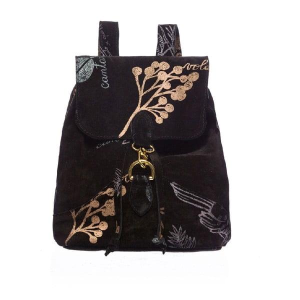 Kožený batoh Nature Black