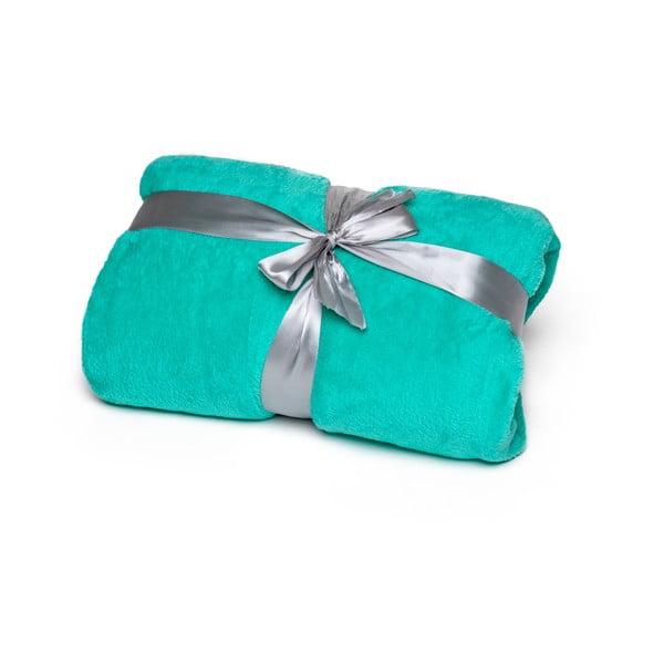 Zelená deka Tarami, 200 x 150 cm