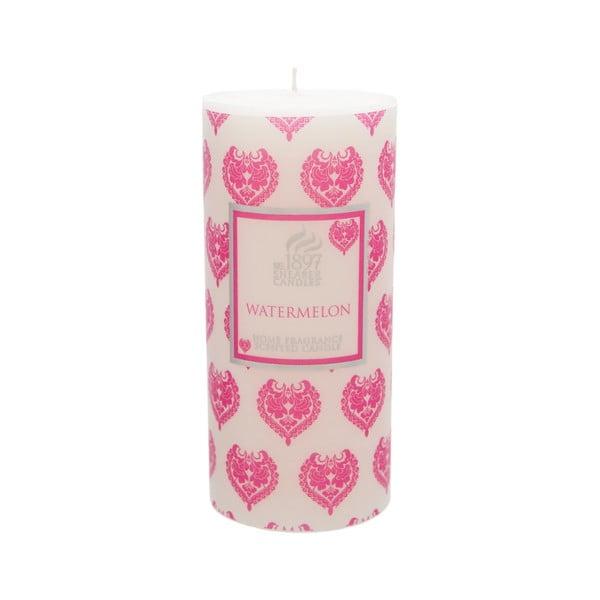 Vonná svíčka Pillar 100 hodin hoření, aroma vodní meloun
