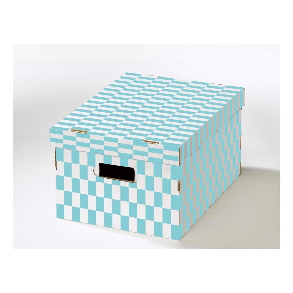 Sada 2 krabic s víkem z vlnité lepenky Compactor Joy, 40 x 31 x 21 cm