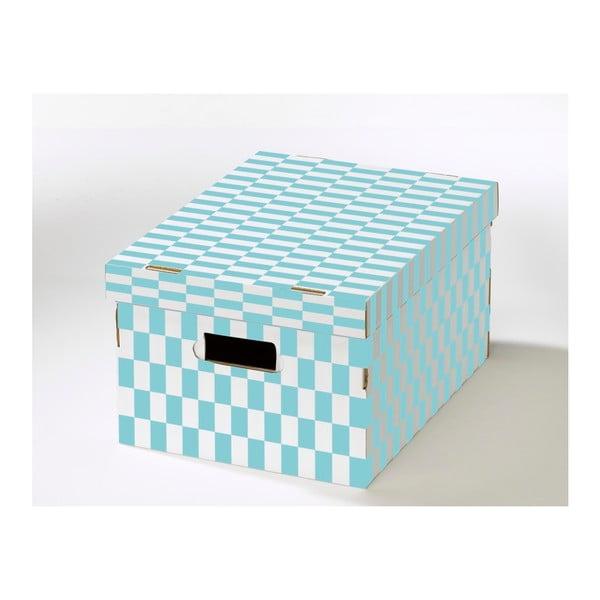 Krabice s víkem z vlnité lepenky Compactor Joy, 40x31x21cm