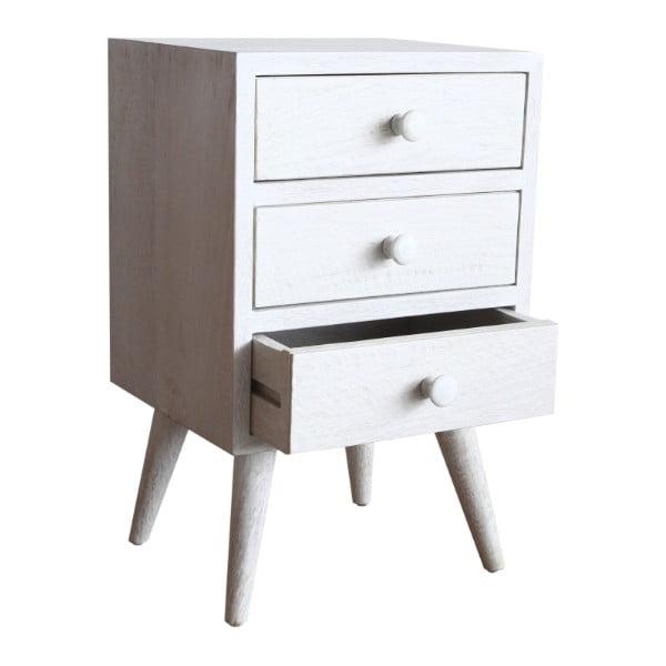 Noční stolek Rustic White