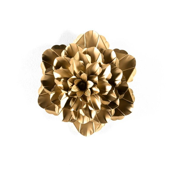 Dekorace ve zlaté barvě Thai Natura Bunga, ⌀39cm