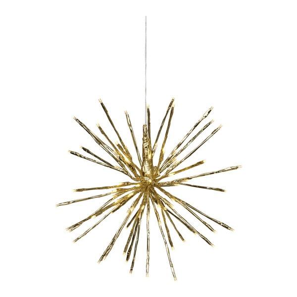 Závesná svietiaca LED dekorácia vhodná do exteriéru Best Season Firework, Ø30 cm