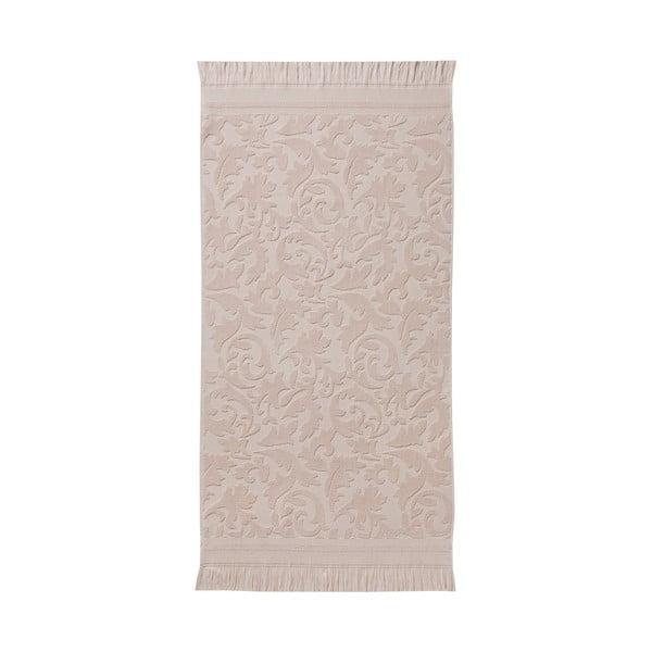 Sada 3 růžových ručníků z organické bavlny Seahorse,60x110cm