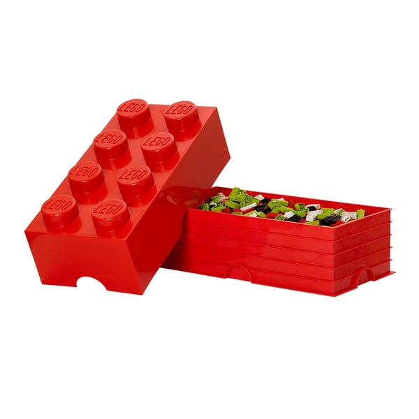 Úložný box, červený