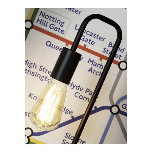 Černá stolní lampa Citylights London