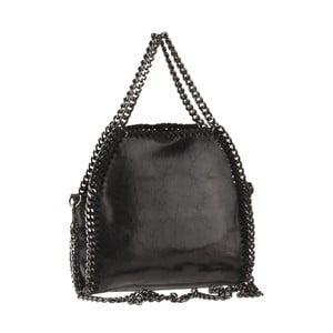Černá kožená kabelka Ore Diece Gazza