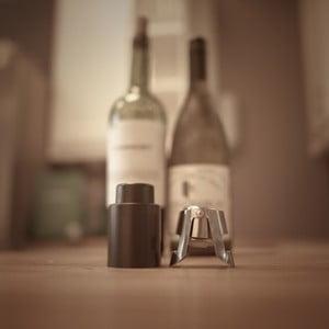Sada zátek na víno a šampaňské