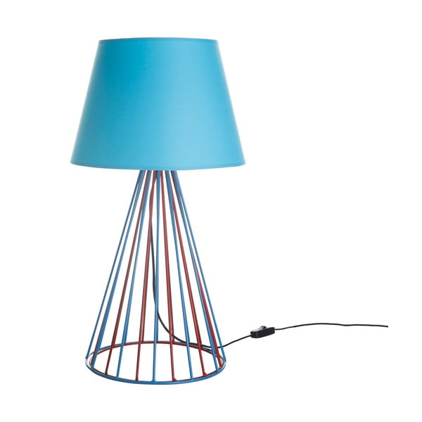 Stolní lampa Wiry Blue/Red