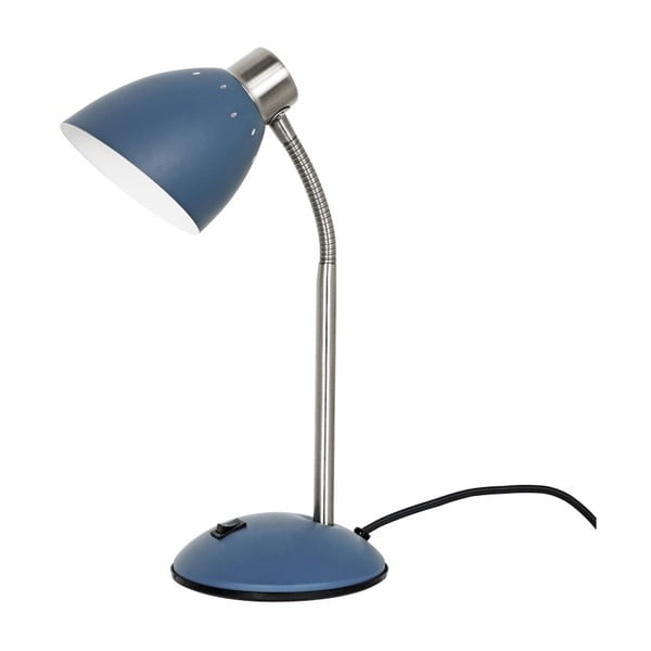 Modrá stolní lampa Leitmotiv Dorm