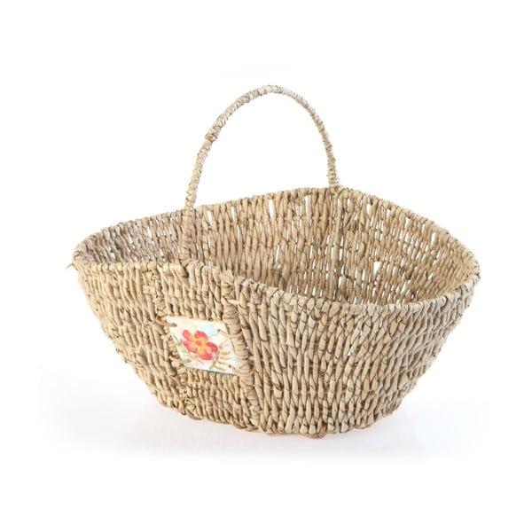 Proutěný košík Wicker Flower, 40 cm