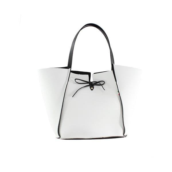 Neoprenová kabelka Fiertes, bílá