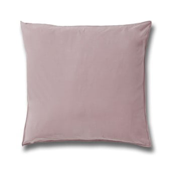 Față de pernă din bumbac Casa Di Bassi Softtouch, 80 x 80 cm, roz deschis de la Casa Di  Bassi