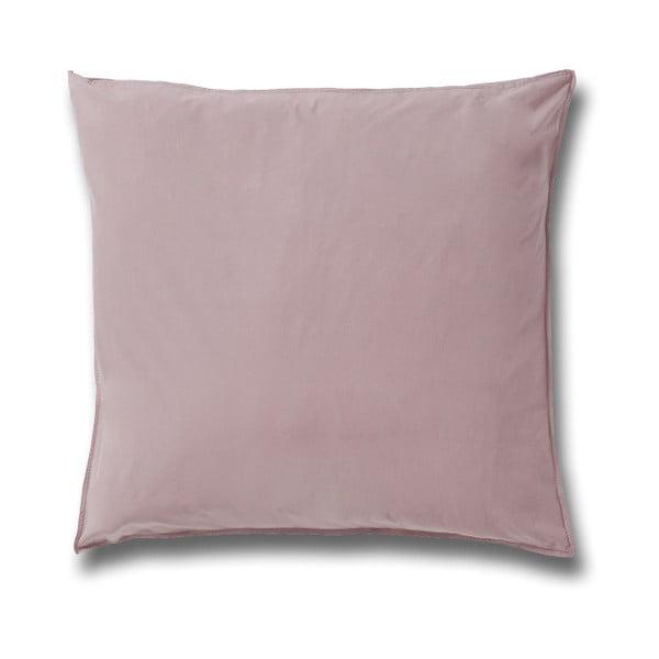 Softtouch világos rózsaszín pamut párnahuzat, 80 x 80 cm - Casa Di Bassi