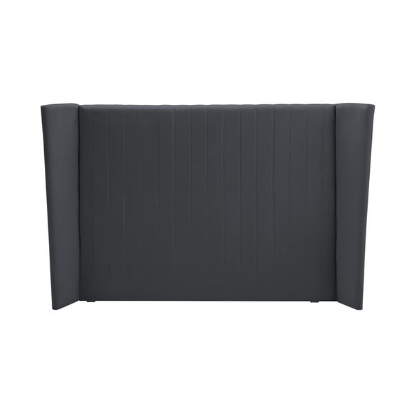 Šedé čelo postele Cosmopolitan design Vegas, 140x120cm