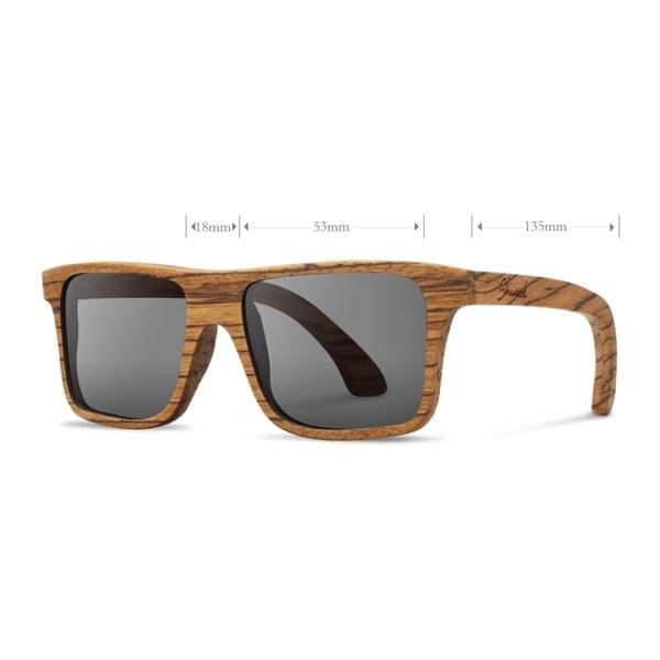 Brýle Govy Zebrawood/Grey