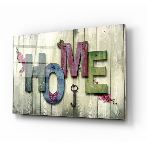 Home üvegezett kép - Insigne