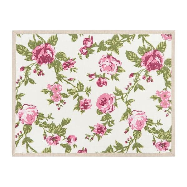 Bavlněné prostírání Roses Pink, 35x45 cm