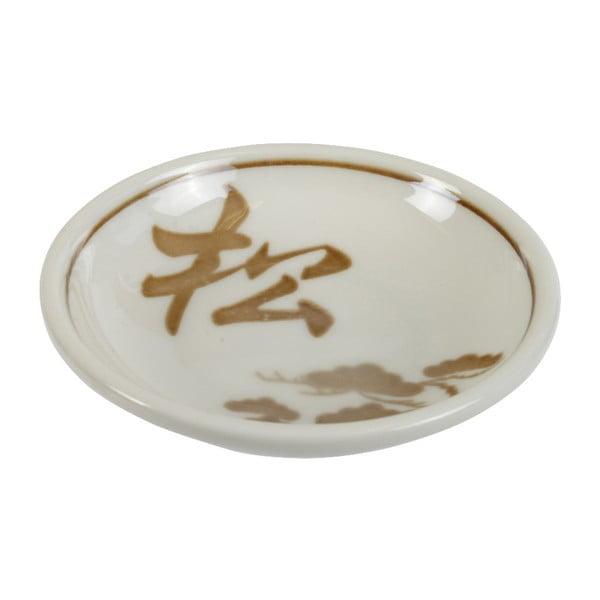 Béžový porcelánový talířek na sójovku Tokyo Design Studio Soy