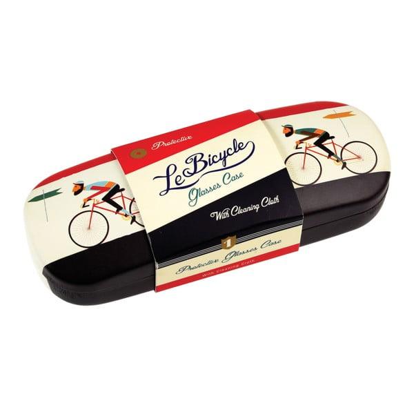 Etui na okulary ze ściereczką Rex London Le Bicycle