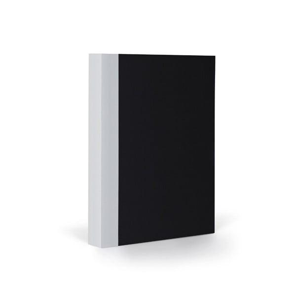 Zápisník FANTASTICPAPER A6 Black/Cool Grey, čtverečkový