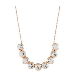 Pozlacený náhrdelník se Swarovski krystaly Musaventura Elegancia
