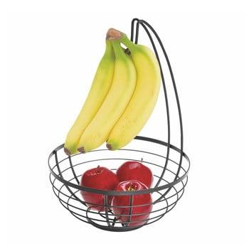 Coș cu cârlig pentru fructe iDesign Austin, ø 27,31 cm, negru imagine
