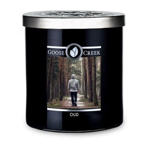 Świeczka zapachowa w szklanym pojemniku Goose Creek Men's Collection Oud, 50 godz. palenia