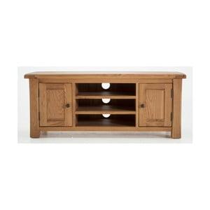 TV stolek z dubového dřeva Vida Living Breeze, délka 1,2m