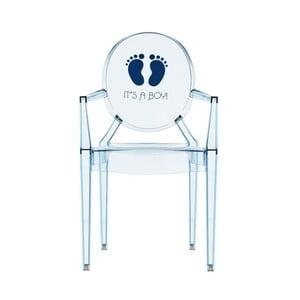 Dětská transparentní židle Kartell Lou Lou Ghost Boy