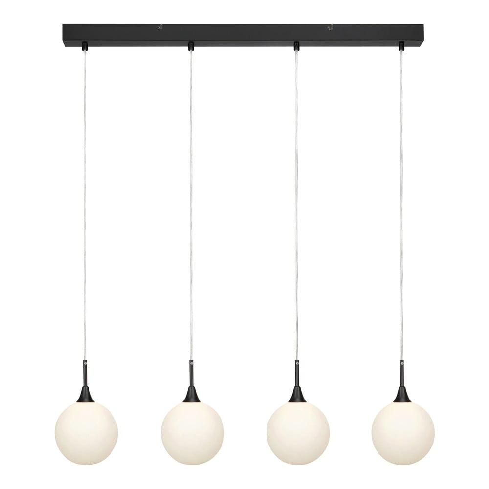 Černé závěsné svítidlo Markslöjd Quattro XL Pendant Black