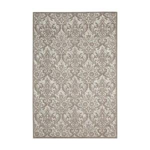 Béžový koberec Nourison Damask Palmyra, 114 x 69 cm