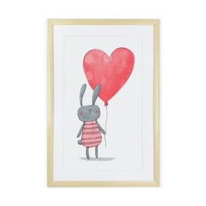 Obraz Tanuki Rabbit Heart, 60 x 40 cm