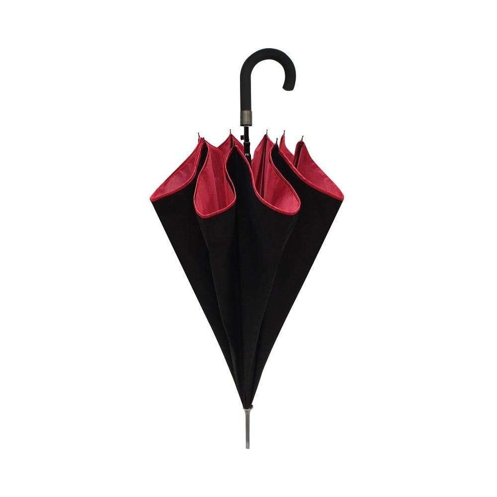 umbrel ambiance smatisa noir rouge bonami. Black Bedroom Furniture Sets. Home Design Ideas